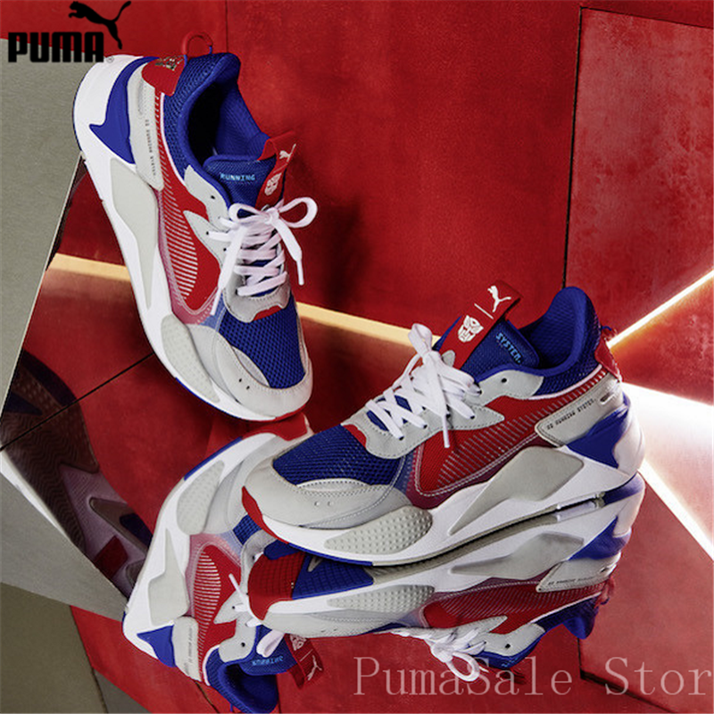 c96c36f730ce PUMA x Hasbro RS-X Transformer Men Women Badminton Shoes Optimus Prime  370702-01