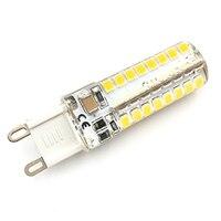 G9 led corn lamp AC220V 3014 15W 10W 12W 2835 LED Crystal Silicone Candle  Christmas light bulb