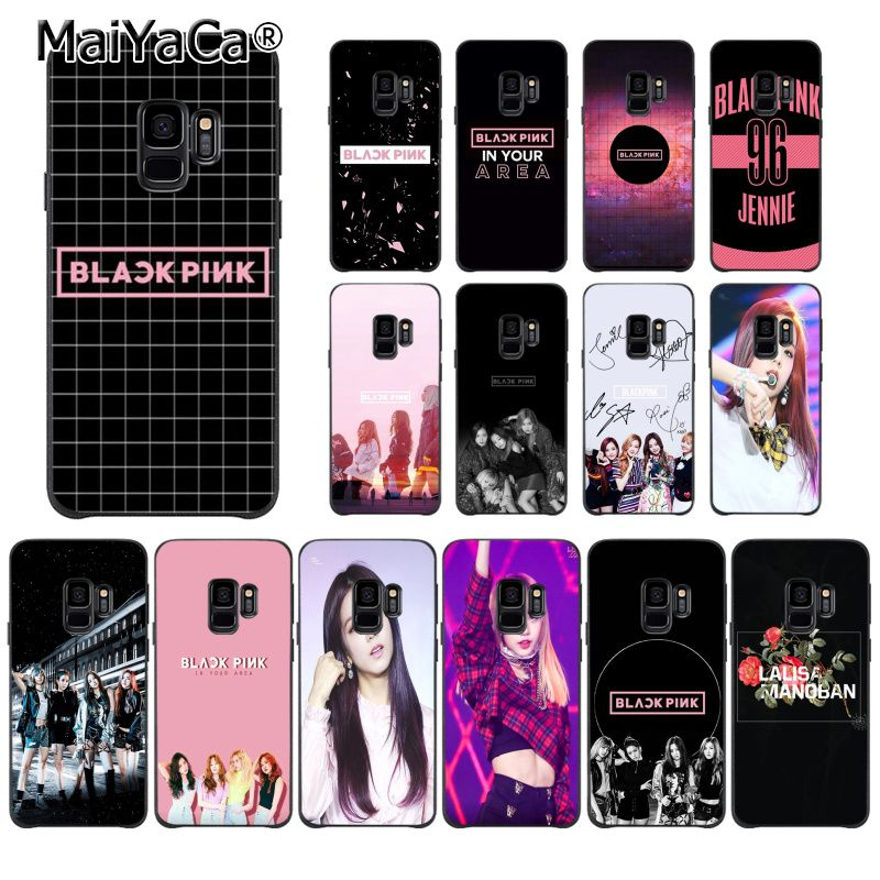 Fitted Cases Nice Maiyaca Fashion Blackpink Diy Printing Phone Case For Samsung Galaxy S9 Plus S7 Edge S6 Edge Plus S5 S8 Plus Case Cellphones & Telecommunications