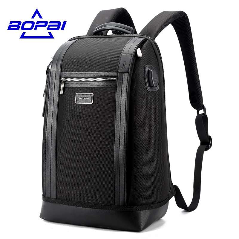 Stylish Waterproof Travel Bag Large Capacity 14-17 Inch Notebook Computer Backpack Male Business Bag