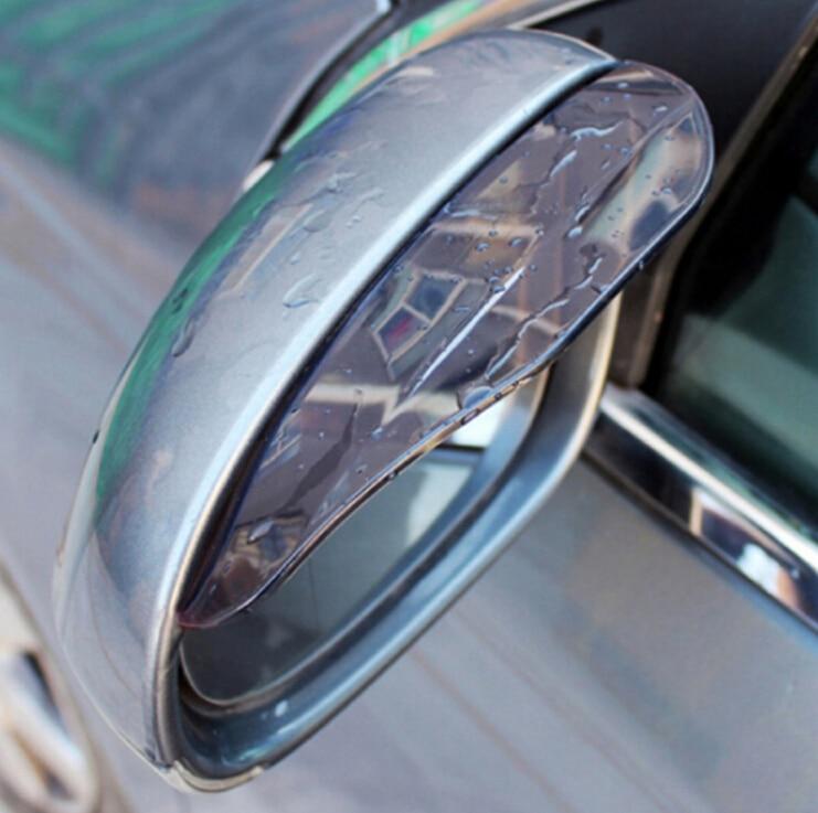 Image 3 - Универсальные автомобильные аксессуары, зеркало заднего вида, дождевик для бровей, дождевик для Renault sceni c1 2 c3 modus Duster Logan Sandero-in Наклейки на автомобиль from Автомобили и мотоциклы