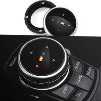 Car Styling Multimedia Idrive Modification Button Cover Knob Cover For BMW E90 F10 F18 F11 F15