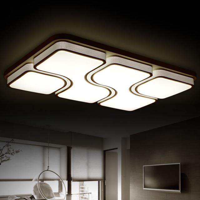 Buy modern ceiling light lamparas de - Lamparas de techo para salon ...