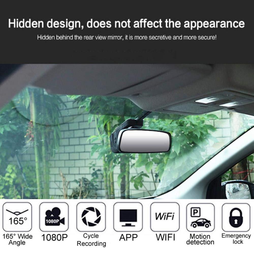 WHEXUNE WiFi Auto DVR Dash Cam FHD 1080P Nachtsicht Versteckte Dashboard Kamera Auto Video Fahren Recorder Fahrzeug Kamera g-sensor