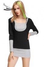 Plus Size M-XXL Long Sleeve Hoodies Women Sweatshirt Female 2017 Women's Patchwork Hoodie And Sweatshirts Blouse Coat 24