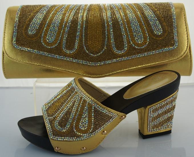 High Quality African Shoes And font b Bags b font Set font b For b font
