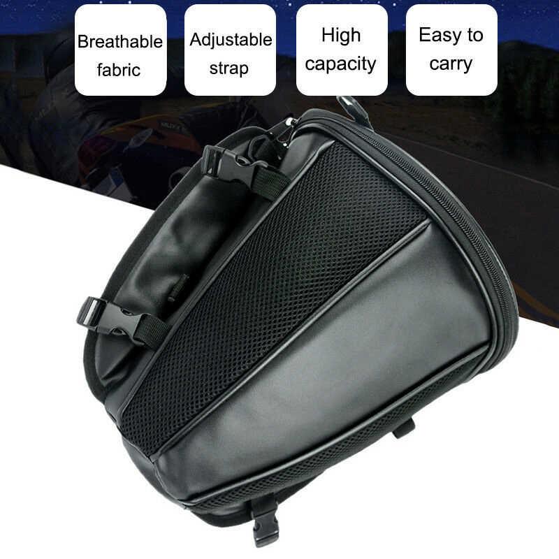 รถจักรยานยนต์กันน้ำ Back Seat Storage Bag Tail Bag กระเป๋าแพ็คกรณี