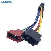 LEEWA 30X Car Stereo Radio 16-Pin PI100 ISO Wiring Harness Adapter For Pioneer 2003-on Audio 2-Head Speaker Wire Connector Cable(China)