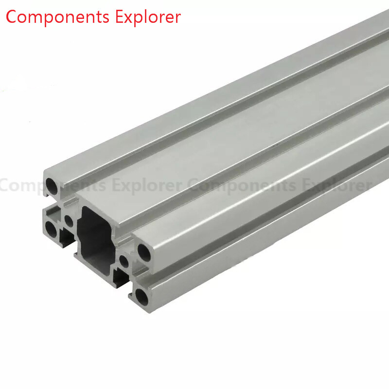 Arbitrary Cutting 1000mm 3060G Aluminum Extrusion Profile,Silvery Color.