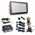7 inch GPS Navigator + Rear View Camera+Video Parking Sensor,  Bluetooth AV-in GPS, HD CCD camera