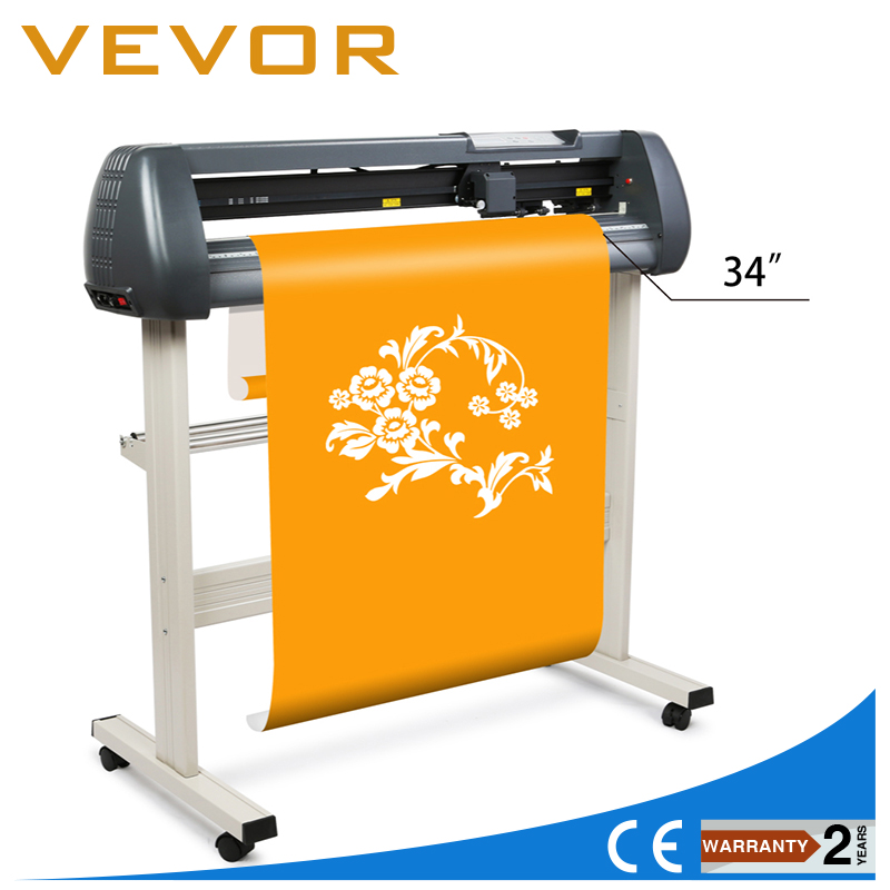 Vevor Free Shipping 870mm Sign Sticker Vinyl Cutter With
