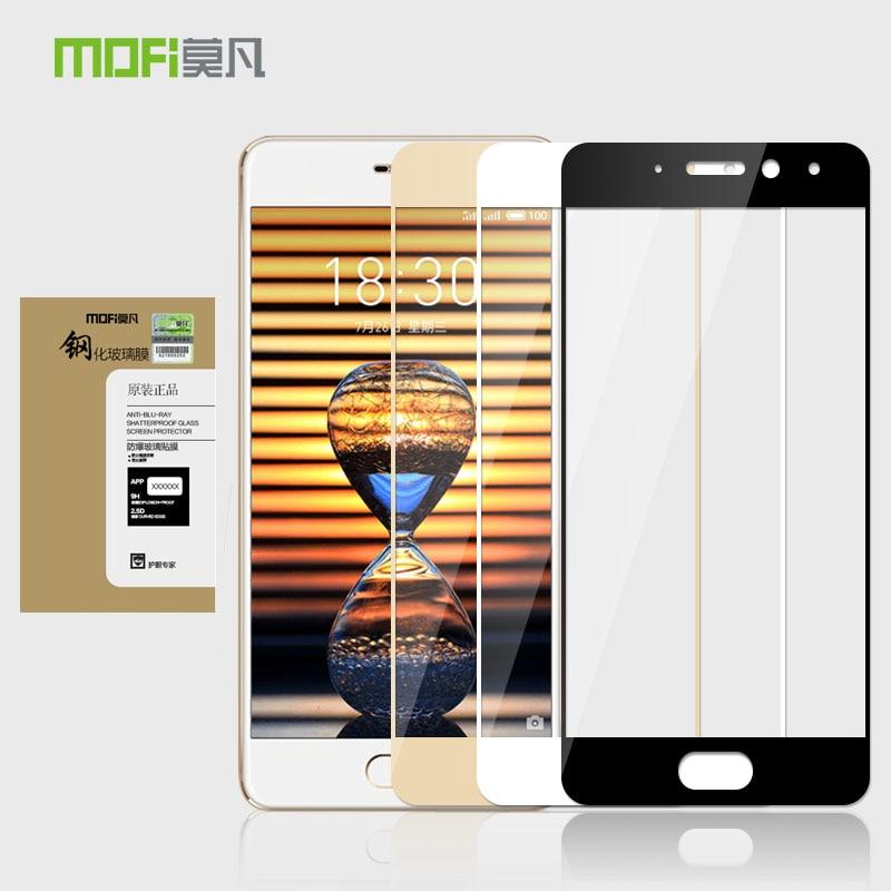 Mofi Original Dedicated camera protective film For Meizu Pro 7 5.2 color tempered glass film