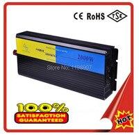 Venda quente 2000 watt DC 12 V para AC 220 V 2000 w max 4000 w pure sine wave power inversores conversores DHL FEDEX LIVRE SHIPING