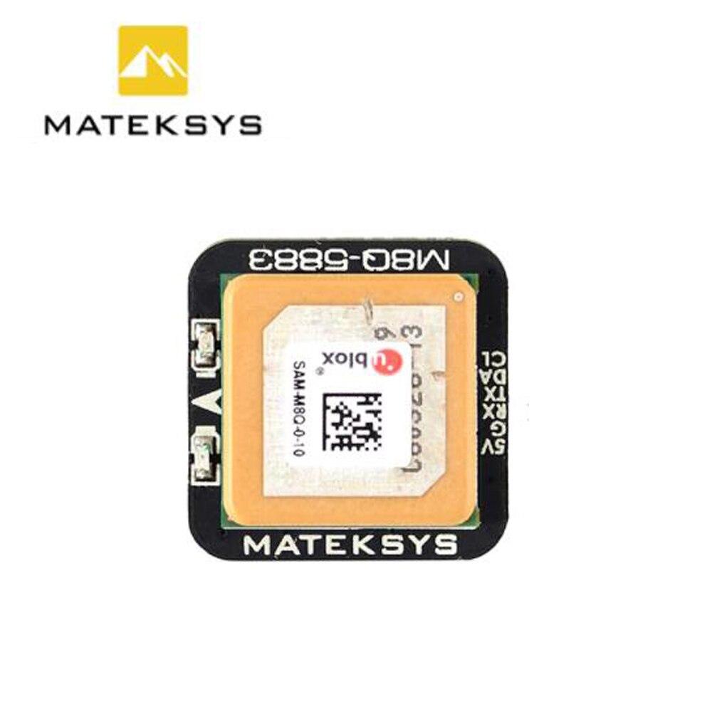 Matek Systems M8Q 5883 SAM M8Q GPS QMC5883L With Compass Module For RC FPV Drone
