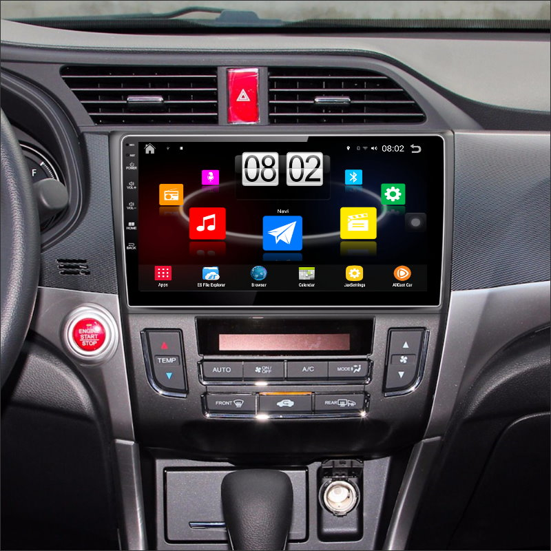 YESSUN Car Android Player Multimedia For Honda Crider 2013 Radio Stereo GPS Nav Navi Map Navigation ( no CD DVD ) 10 HD Screen