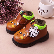 High quality Winter Outdoor suede Leather Baby moccasins Shoes infant anti-slip first walker soft soled Newborn Baby boy Boots