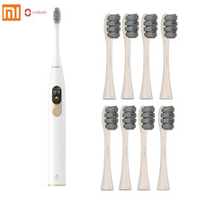 Xiaomi Mijia Oclean X Sonic Electric Toothbrush with 8 Head Upgraded Waterproof Ultrasonic Automatic USB Rechargeable