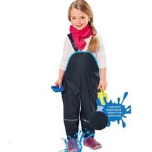 Rain-Pants Overalls Waterproof Children Trousers Girls Outdoor Boys Kids New for Spring