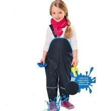 2019 новые детские комбинезоны Водонепроницаемый брюки с хлопковой