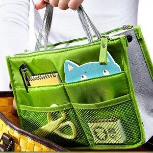 Image 5 - 多機能収納パッケージ女性化粧品袋ビッグサイズの化粧ポーチ良質旅行ハンドバッグトイレタリーバッグオーガナイザー