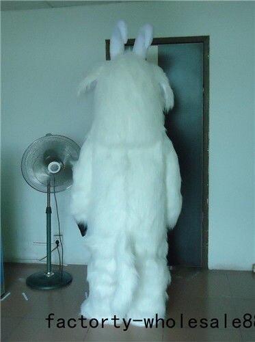 Halloween carnaval mouton mascotte Costume costumes adulte Cosplay partie jeu robe tenues vêtements publicité carnaval noël - 2