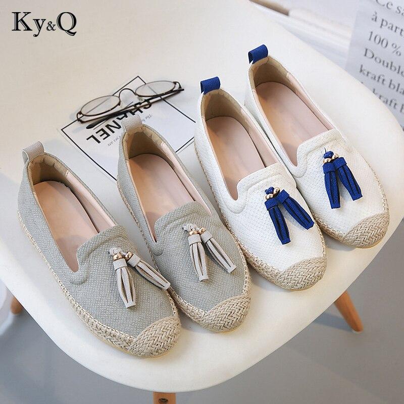 цена на Brand Design Women Espadrilles Flats Shoes Mix Color Creepers Slip On Women Loafers Ladies Shoes Glitter Shoes Women