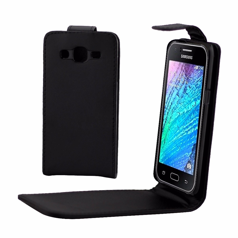 Phone Bags Cover For <font><b>Samsung</b></font> <font><b>Galaxy</b></font> J2 <font><b>J200</b></font> phone <font><b>case</b></font> Back coque PU leather Flip Vertical Up-Down Open skin pouch image