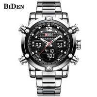 Top Luxury Brand Sport Men Full Steel Watch Outdoor Cool Shock Military Digital Electronics Male Watches Waterproof Clock
