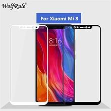 2pcs Screen Protector Xiaomi Mi 8 Glass Tempered Glass For Xiaomi Mi 8 Full Coverage Glass Xiaomi Mi8 Mi 8 Phone Film asling tempered glass screen film for xiaomi mi 8
