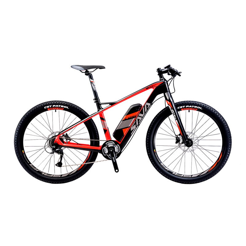 sava carbon fiber ebike 27 5 inch electric mountain bike. Black Bedroom Furniture Sets. Home Design Ideas