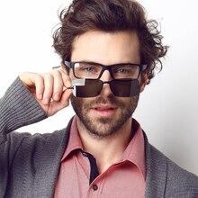 Prescription Eyeglasses Frames Men Eye Glasses Computer Eyewear 2 In 1