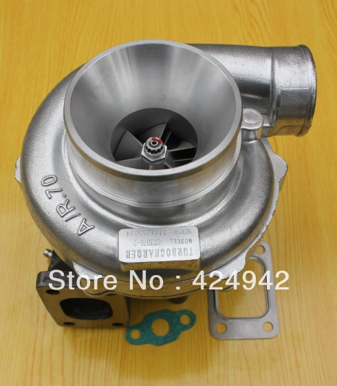 GT3076 GT30 T25 flange compressors housing A/R .70 turbine A/R .86 water&oil 5 bolts turbo turbocharger|turbocharger wastegate|turbocharger renault|turbocharger t3 - title=