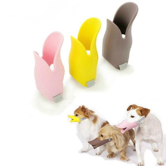Anti Bite Bocca Anatra Forma Pet Divertente Serie di Maschere Anti-morso Pet Orn