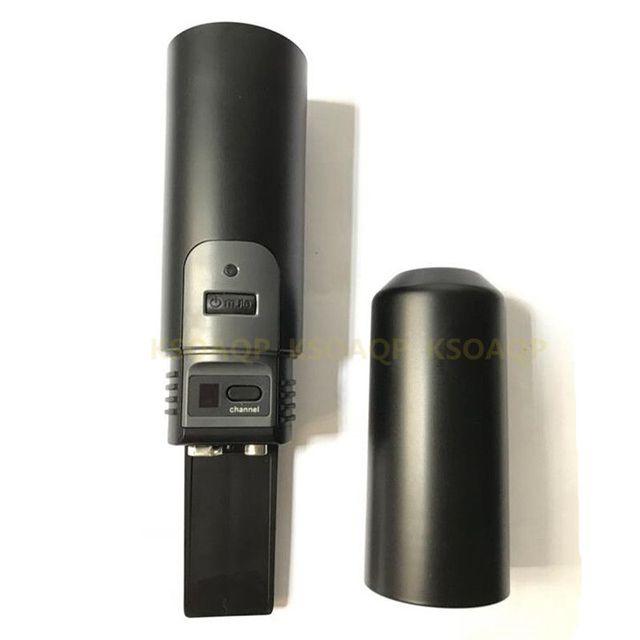1 pçs substituição headheld corpo para shure rpw110 pg58 pg288 microfone sem fio