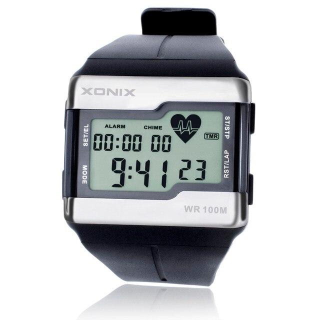 Спортивные часы, модные многофункциональные часы с сенсорным монитором сердечного ритма, мужские спортивные часы, цифровые часы хорошего качества