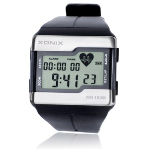 Image 1 - Sports Watches Fashion Multifunction Touch sensitive Heart Rate Monitor Watch Men Sport Watch Good Quality Digital Watches