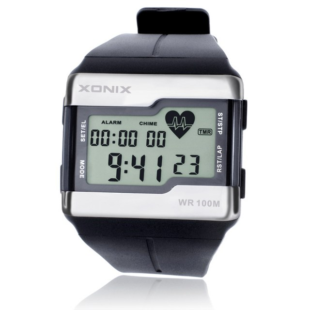 XONIX Sports Watches Fashion Multifunction Touch-sensitive Heart Rate Monitor Watch Men Sport Watch Good Quality Digital Watches