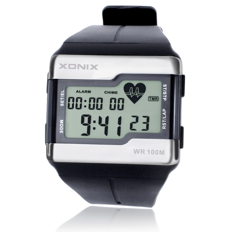 XONIX Sports Watches Fashion Multifunction Touch-sensitive Heart <font><b>Rate</b></font> Monitor Watch Men Sport Watch Good Quality Digital Watches