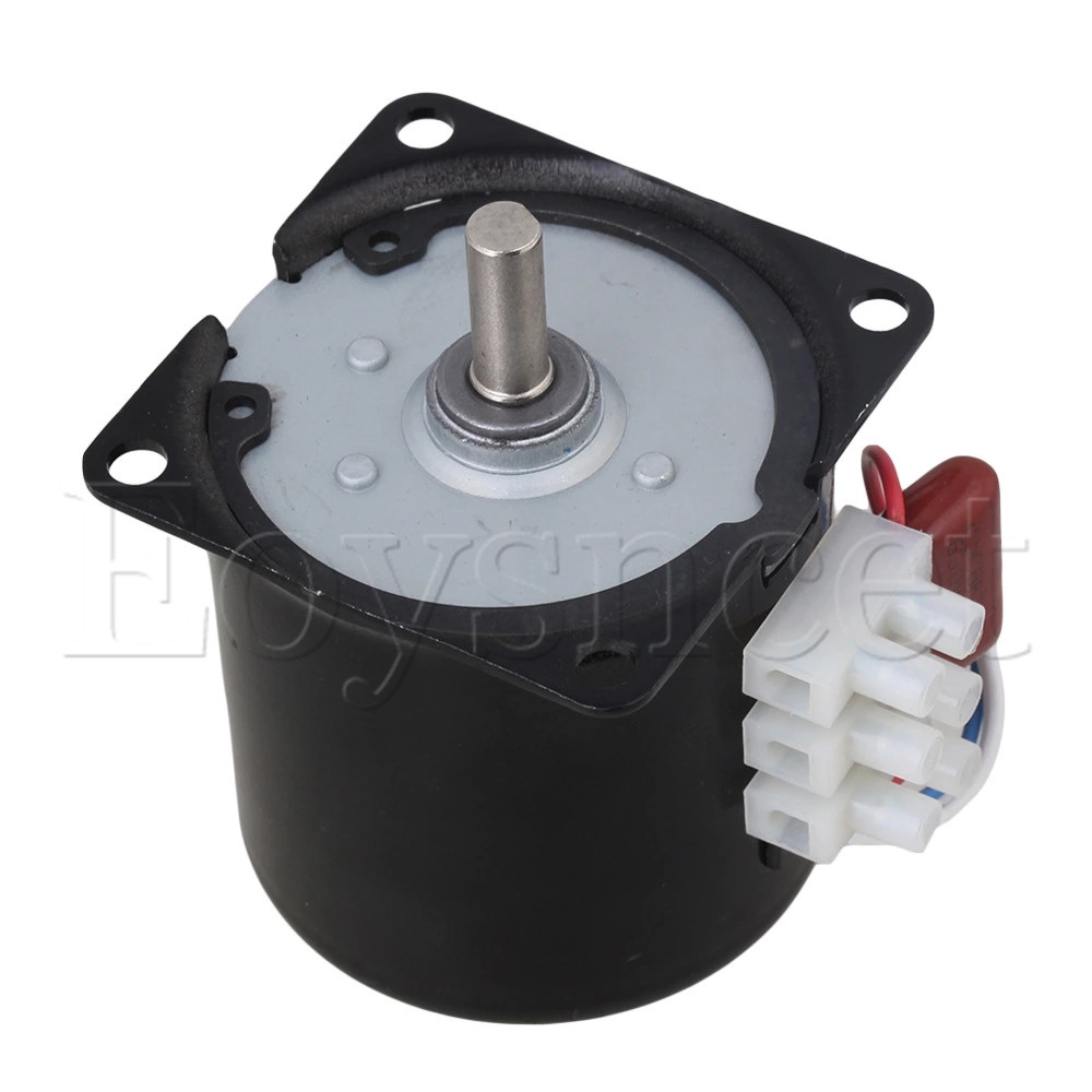 High Torque AC 220V 60RPM Gear Box Electric Synchronous Gear Motor Replacement