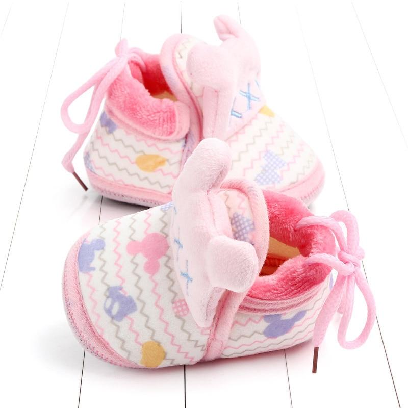 Indoor First Walkers Baby Shoes Cotton Anti-slip Booties Winter Wammer Baby Girl Boy Shoes Newborn Slippers Footwear Booties (43)