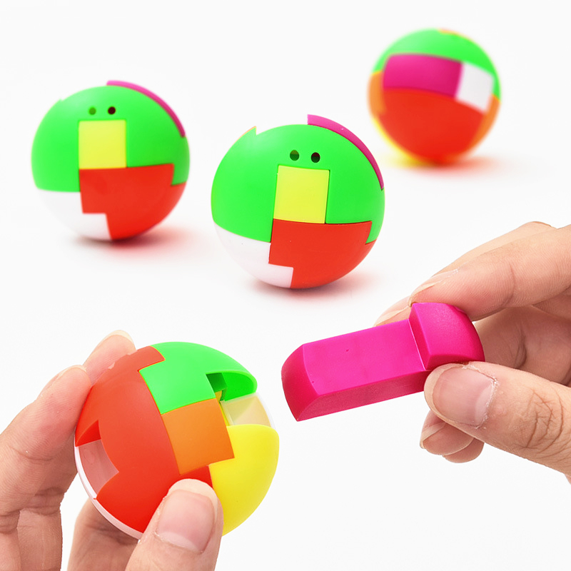 3D Puzzle Ball Puzzle Toys For Children Kids Adult Educational Toys Magic Ball Brain Teasers Toy Intelligence Game Puzzles