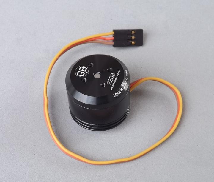 1pcs NEW T Motor GB2208 Head Precision Brushless Motor Handheld Camera UAV zj730400 camera motor motor n2n 6y23