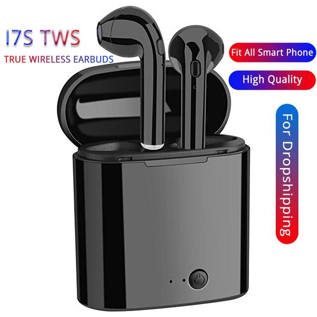 I7s TWS de aire Mini cápsulas inalámbrico Bluetooth auriculares con caja de carga de auriculares para Huawei xiaomi iPhone Samsung