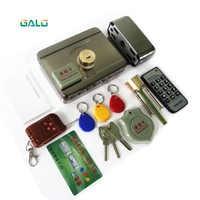 Smart télécommande carte d'identité étiquette porte porte serrure château contrôle d'accès électronique intégré RFID jante serrure double RFID lecteur