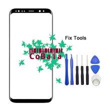 Lovain 1 шт. оригинал для Samsung Galaxy S8 + S8 плюс край g955f g955 спереди Стекло 6.2 «Сенсорный экран объектива ЖК-дисплей внешний Панель + Инструменты