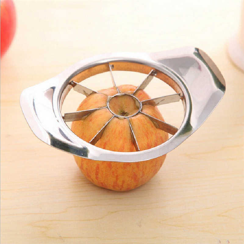 Gadgets de cozinha aço inoxidável cortador maçã slicer frutas vegetais ferramentas acessórios cozinha slicer frutas acessórios