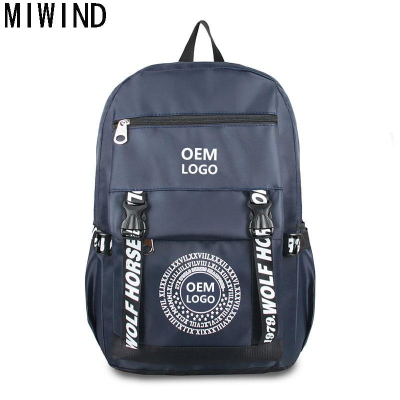 MIWIND Laptop Backpack Men Multifunction School Bags Waterproof Nylon Backpacks For Teenagers Casual Travel Backpack TXH1141 miwind laptop backpack men multifunction school bags waterproof nylon backpacks for teenagers casual travel backpack txh1141