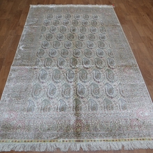 Yilong 5'x8′ Cone turkish pattern original handmade persian carpet (SL260D5x8)