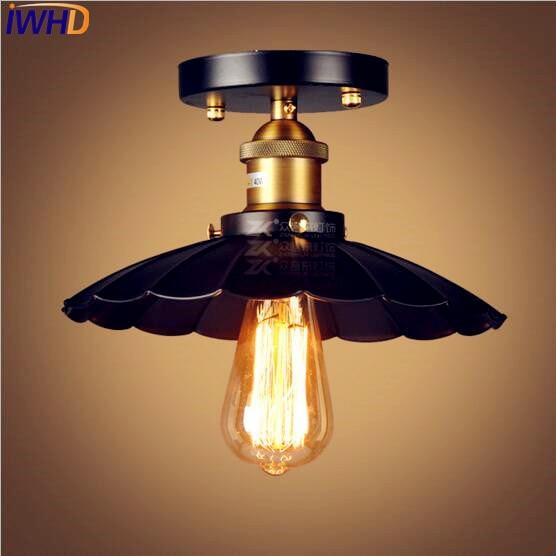 iwhd edison loft industrial conduziu lampada 04