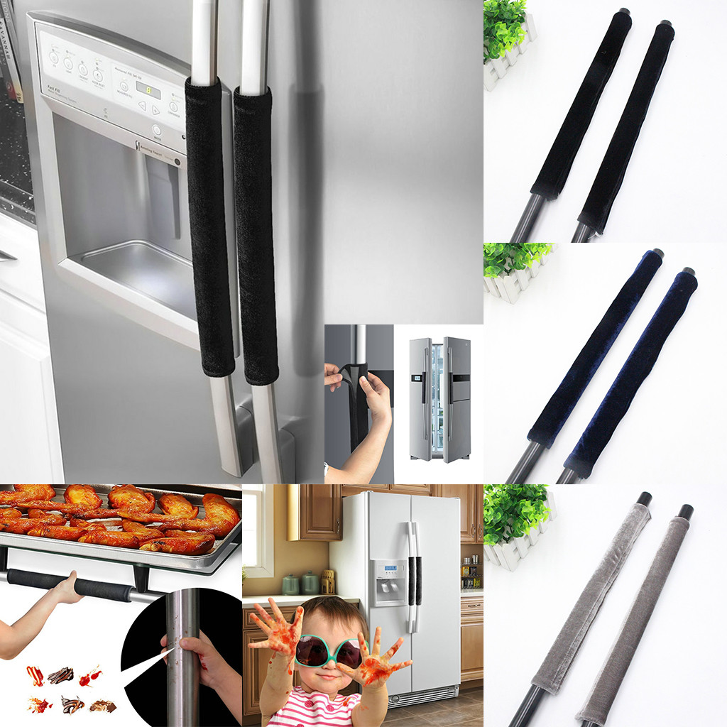 appliance:  2019 Free Shipping Best Price A Pair Refrigerator Handle Cover Kitchen Appliance Refrigerator Cover Kitchen Gadgets - Martin's & Co
